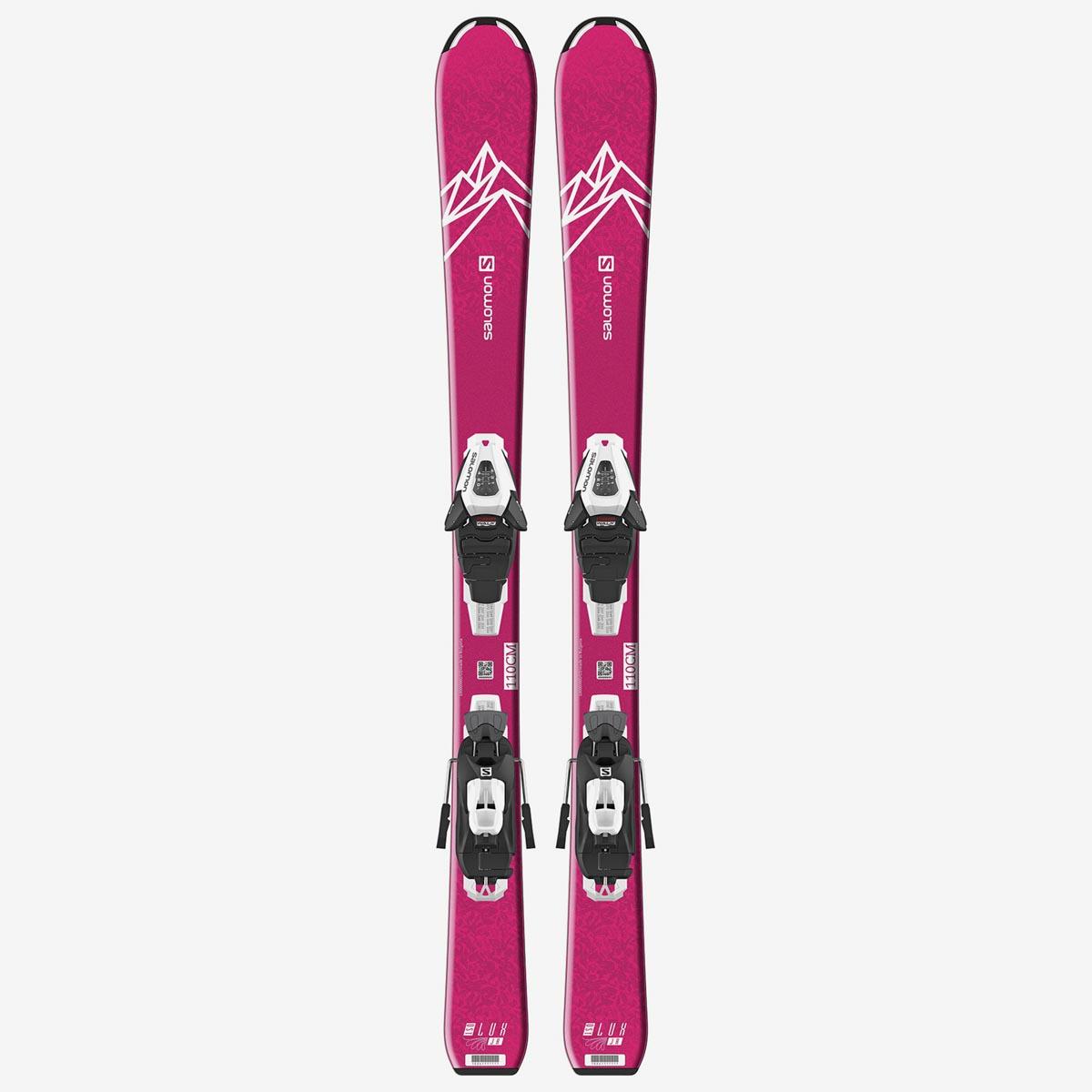 Комплект: лыжи + крепления QST LUX JR S+ C5 GW J75