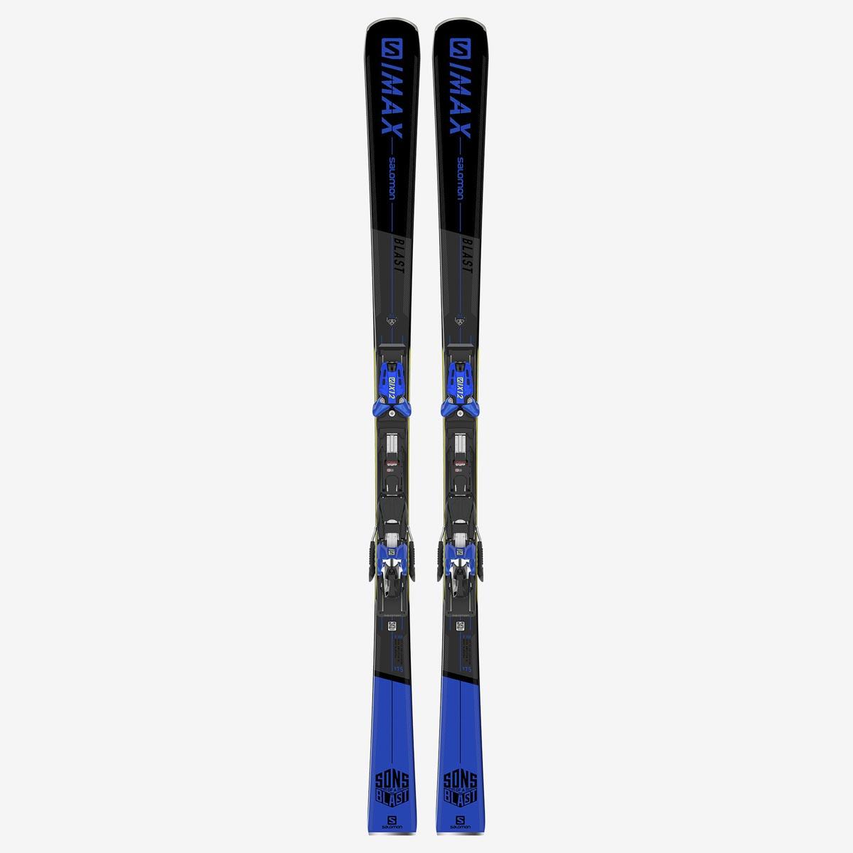 Комплект: лыжи + крепления X S/MAX BLAST + X12 TL GW